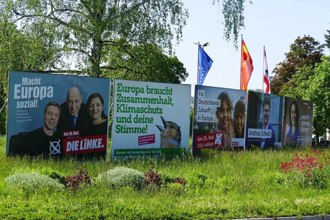 Rund 180.000 Menschen dürfen am Sonntag im Kreis Lörrach wählen.  | Foto: Sabine Ehrentreich
