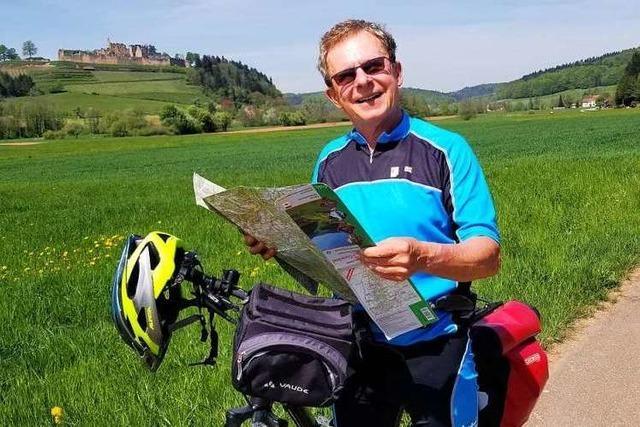 Warum der Wanderwart des Schwarzwaldvereins Denzlingen Muskelkater schön findet