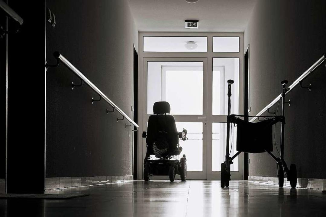 Das mutmaßliche Opfer war Bewohnerin e...ltersheims in Frankreich. (Symbolbild)  | Foto: Heiko Küverling - stock.adobe.com