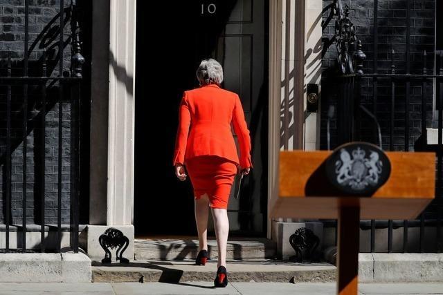 Britische Premierministerin May kündigt Rücktritt an