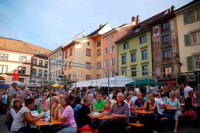 Das Bad Säckinger Brückenfest soll klimaneutral werden