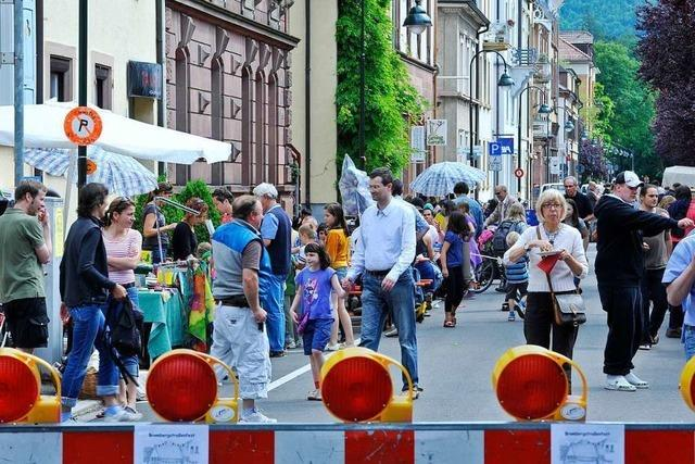 Am Samstag ist wieder Brombergstraßenfest in der Wiehre