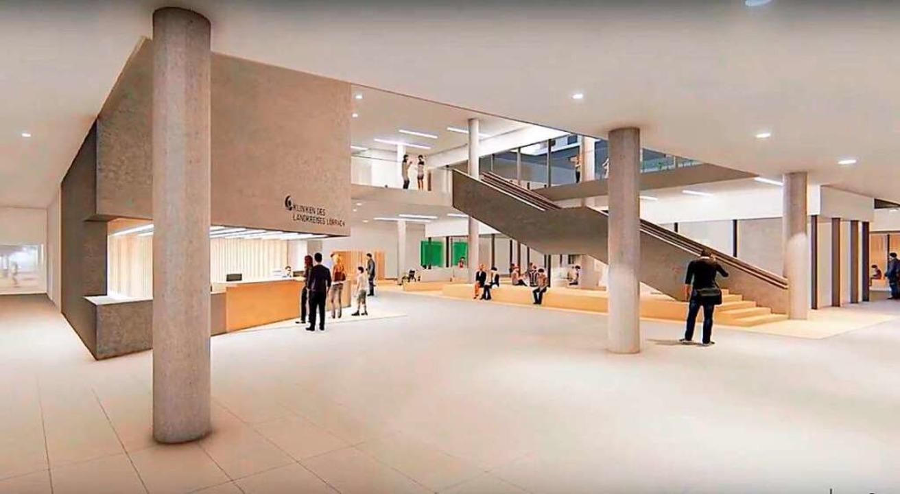 So soll das geplante Zentralklinikum aussehen.  | Foto: a|sh sander.hofrichter architekten GmbH