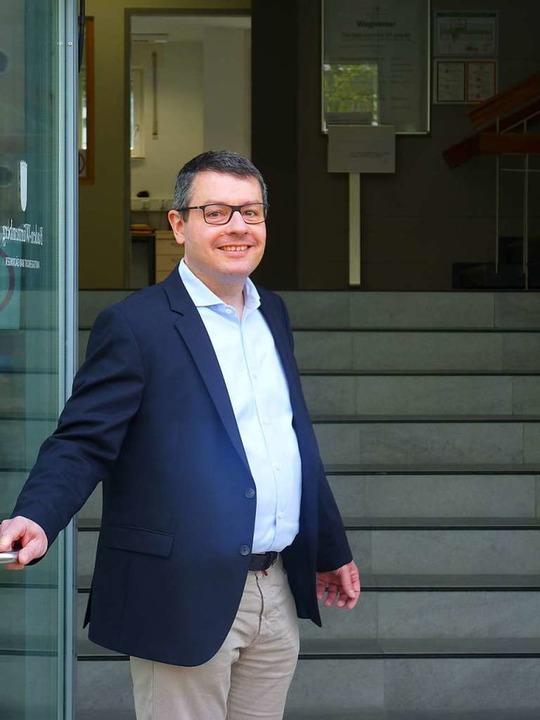 Klaus Schuster ist neuer Chef des Amtsgerichts.    Foto: Hilde Butz