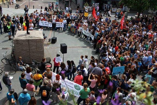 In Lörrach demonstrieren bei Fridays-for-Future jetzt auch die Großeltern mit