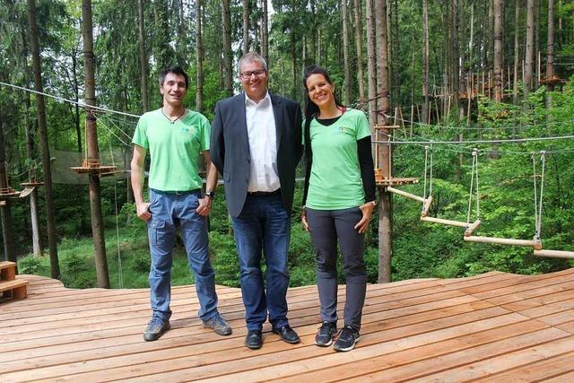 Kletterwald Hochempor ist offiziell eröffnet