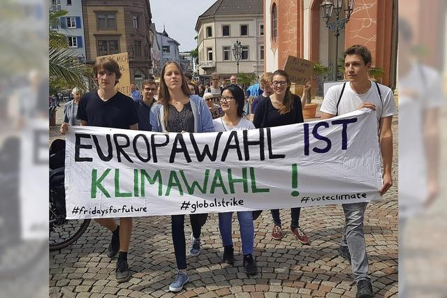 Demo vor der Europawahl