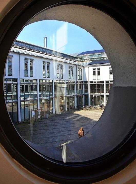 Das Rathaus im Blick haben knapp 22000...esetzung des Gemeinderats entscheiden.    Foto: Gerhard Walser