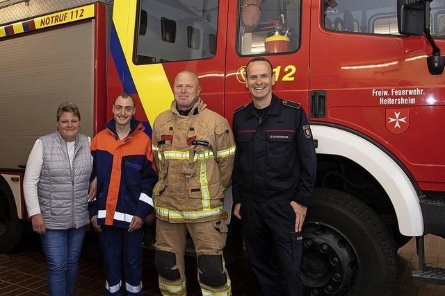 Feuerwehr Heitersheim setzt sich für Kameraden ein
