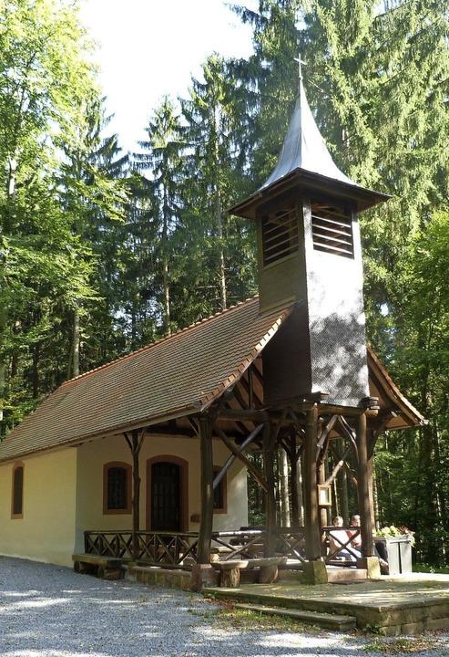 Ziel der Wallfahrt: Die Brudertalkapelle in Kuhbach   | Foto: Alfons Vögele