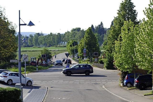 Ein neuer Kreisverkehr am Ortseingang