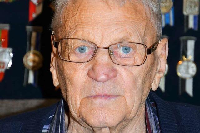 Andreas Fien feiert seinen 85. Geburtstag