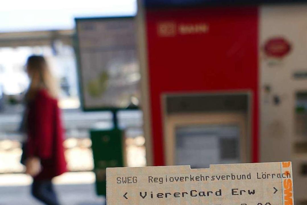 Das Ein-Euro-Ticket wird als Vierercard erhältlich sein.  | Foto: Peter Gerigk