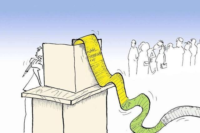 Zahlen und Fakten zur Kommunalwahl