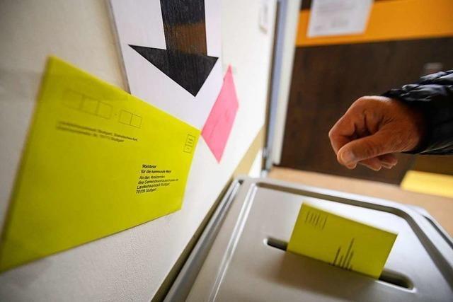 Durchhalten und wählen gehen am Wahlsonntag