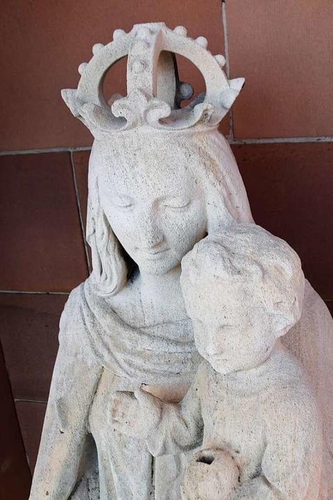 Was hat die Gottesmutter einst in ihrer rechten Hand gehalten?  | Foto: Stefan Ammann