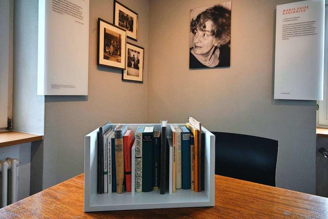 Literarische Gedenkstätte für Marie Luise Kaschnitz im Rathaus Bollschweil  | Foto: Ferienregion Münstertal Staufen