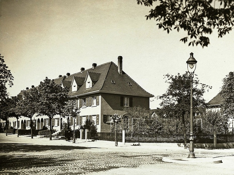 Heimbau Gründungssiedlung 1919 - 1924 Stefan-Meier-Straße  | Foto: Heimbau