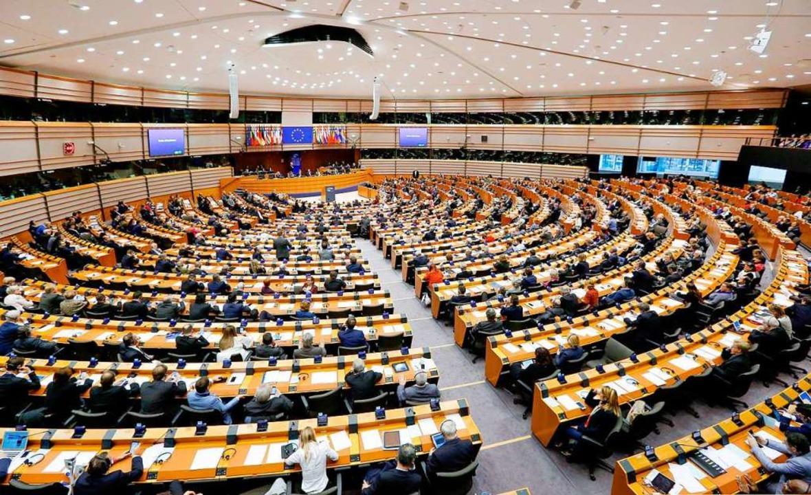 Brüssler Vielerlei: ein Blick ins Plenum des Parlaments  | Foto: Laurent Dubrule