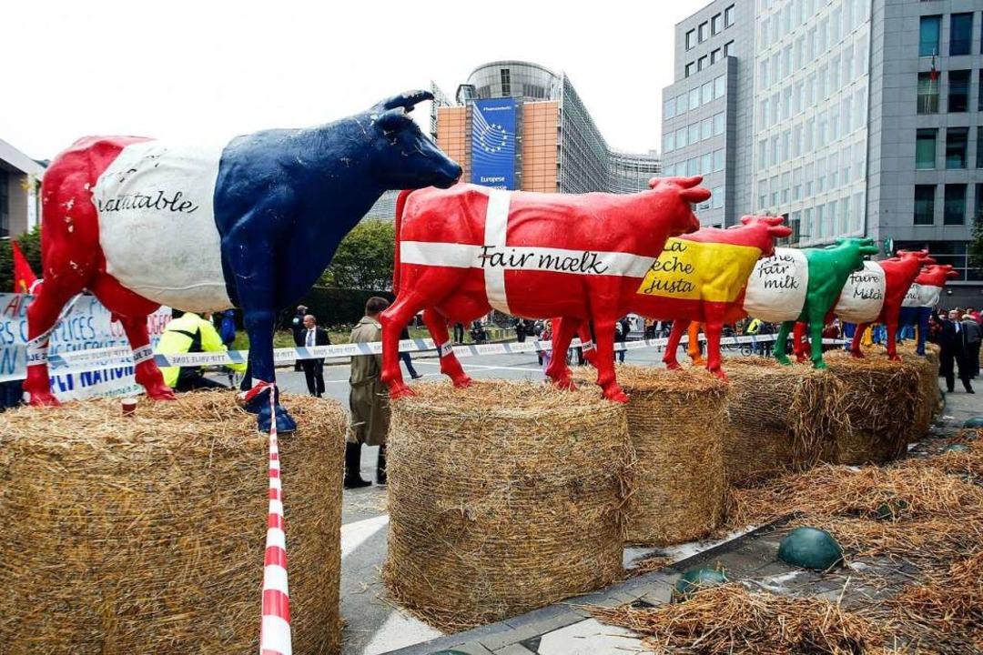 Jedem Tierchen sein Pläsierchen: Bauer... ist jedenfalls tabu. </ZAM-BlindText>  | Foto: THIERRY ROGE