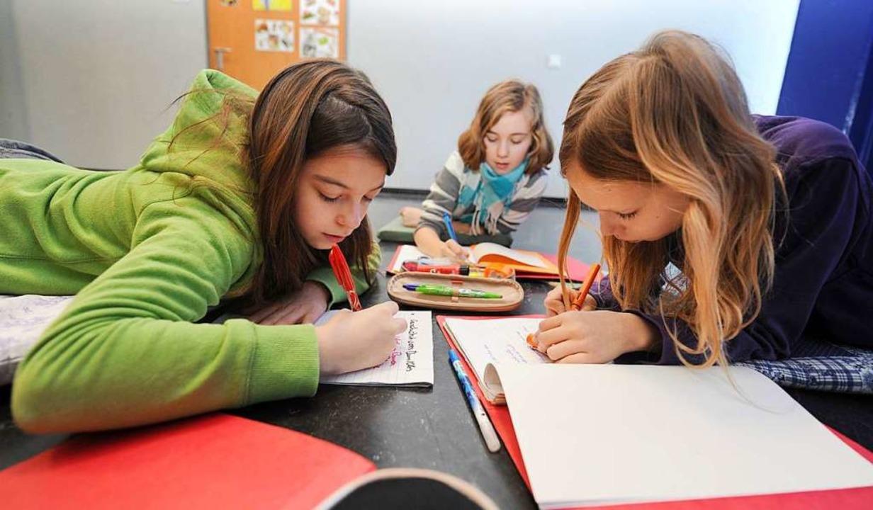 Vorzüge der Gemeinschaftsschule: Lerngruppen statt Klassen  | Foto: Franziska Kraufmann