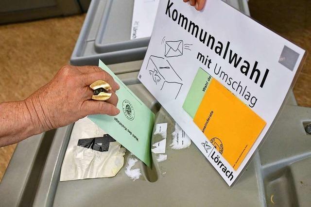 Wie hat der Landkreis Lörrach gewählt?