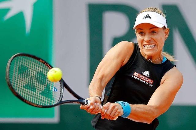 Angelique Kerber scheitert schon in Runde eins der French Open
