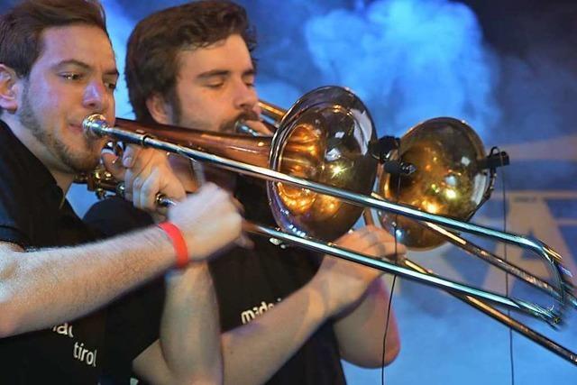 Rock'n' Brass beim Musikverein Herten