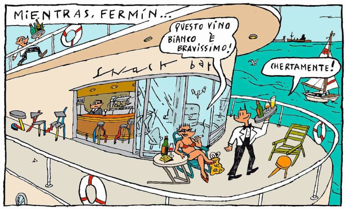 Szene aus dem Comic Los Garriris von Javier Mariscal  | Foto:  Javier Mariscal