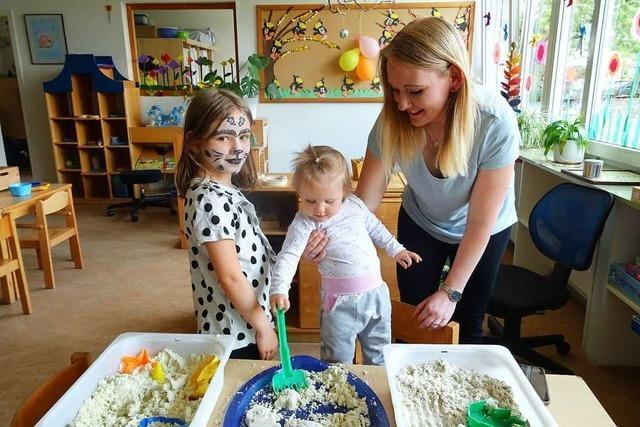 Der katholische Kindergarten St. Josef in Weil-Haltingen ist 50 Jahre alt