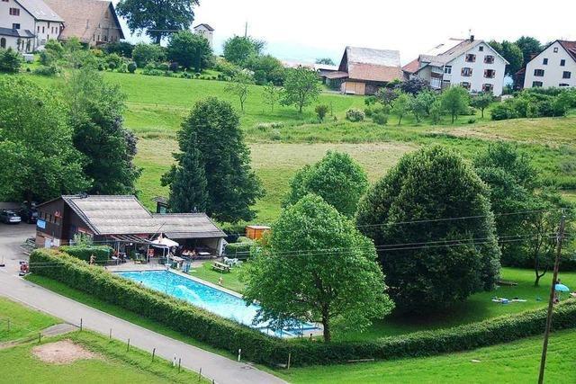 Keine Badeaufsicht – Höhenschwimmbad Schweigmatt öffnet später