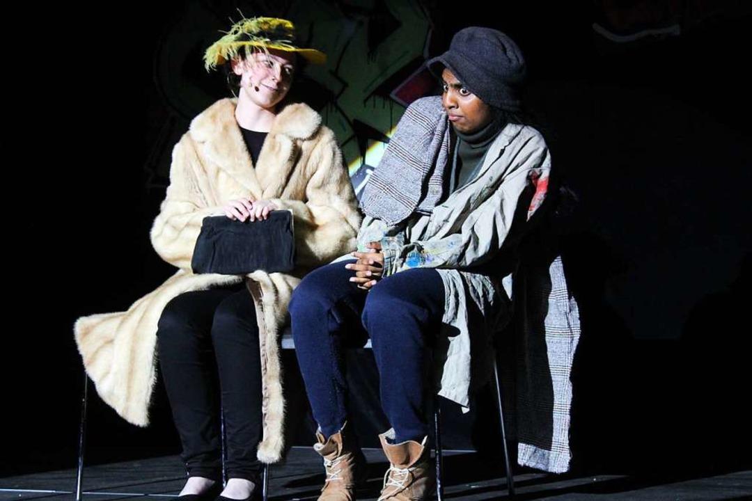Die Bitternis der Armut und die ignora...iteratur- und Theaterkurses gegenüber.  | Foto: Erich Krieger
