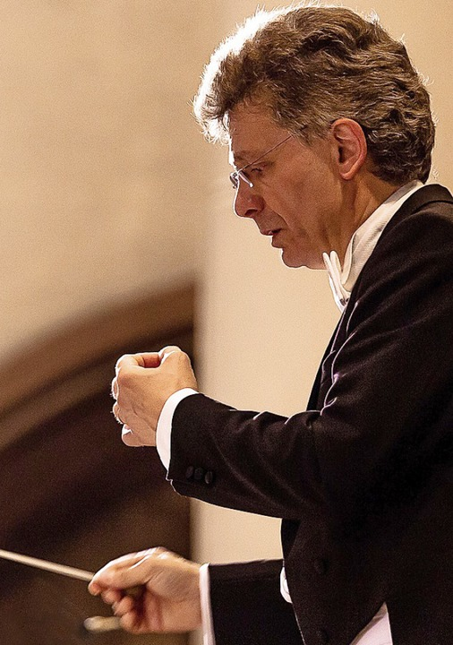 Dirigent Bernhard Gärtner  | Foto: Pro
