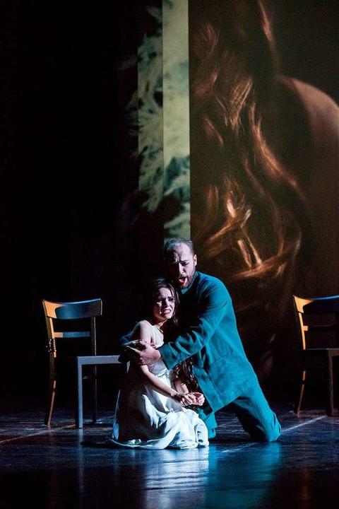 Pelléas (John Carpenter),  Mélisande (Katharina Ruckgaber)  | Foto: Muranyi