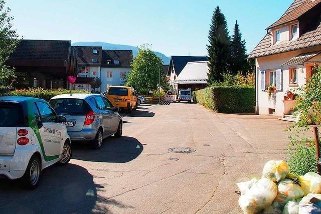 Die Schulhausstraße in Kirchzarten wird erneuert