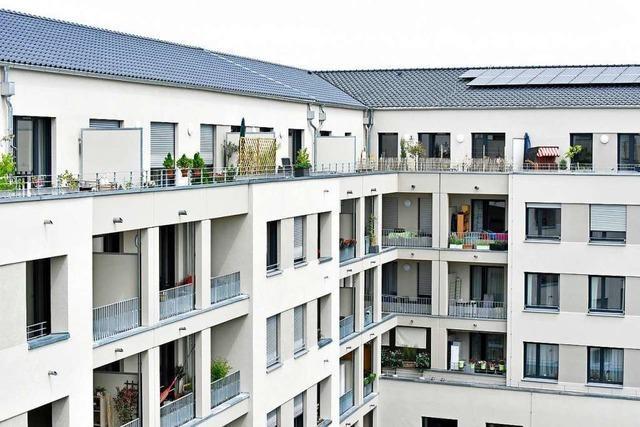 Bauverein Breisgau eröffnet Uni-Carré mit 141 Wohnungen
