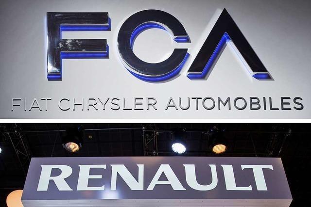Größter Autobauer? Fiat Chrysler schlägt Fusion mit Renault vor