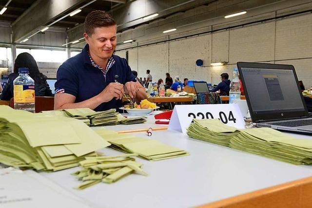 Live-Ticker: Grüne im Freiburger Rat holen zwei Sitze mehr, CDU und SPD verlieren deutlich