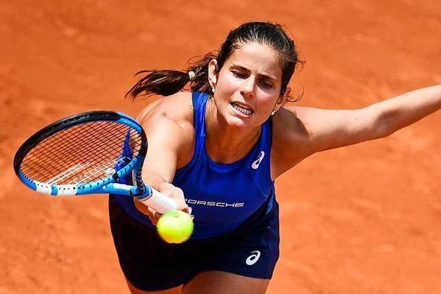 Nächstes Scheitern bei French Open: Auch Görges in Runde eins raus