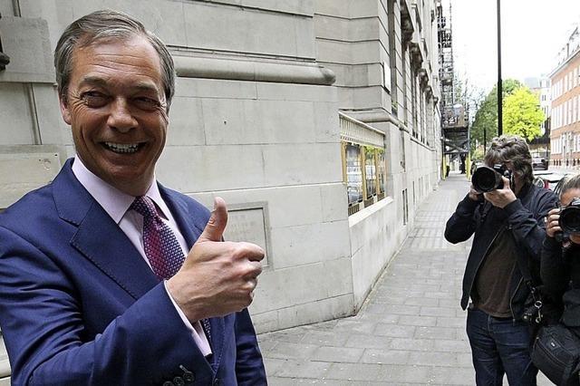 EU-Gegner werden stärkste Fraktion in Großbritannien