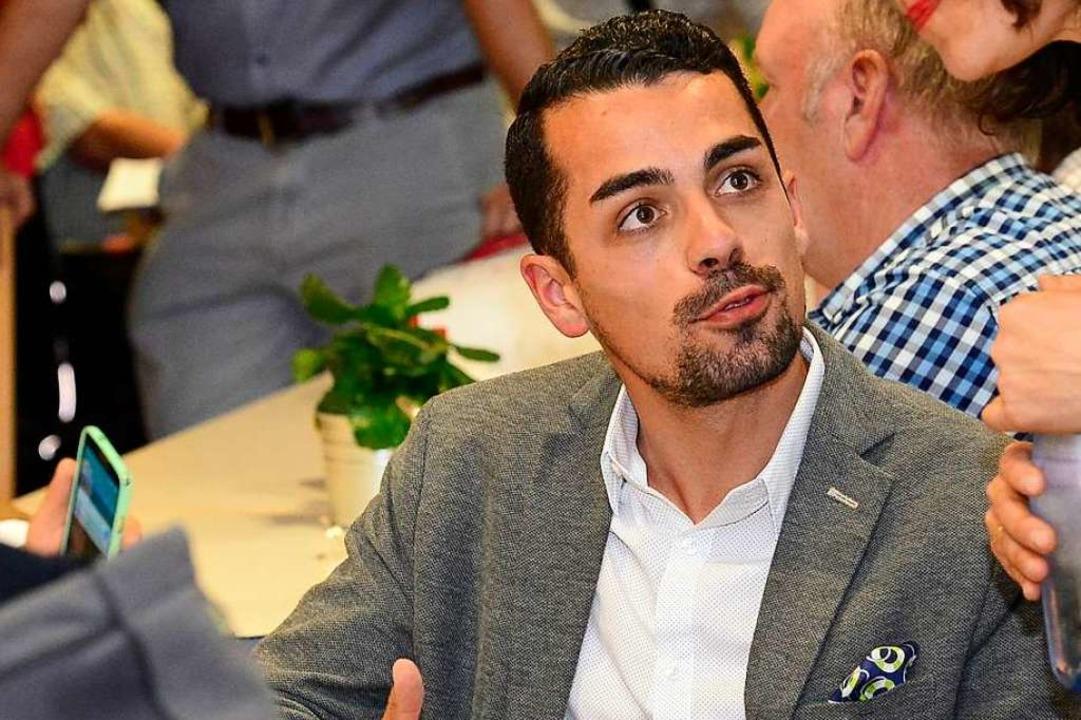 Andreas Schumacher, Kandidat #1 der Af...stenkandidaten 2 und 4 überholten ihn.  | Foto: Ingo Schneider