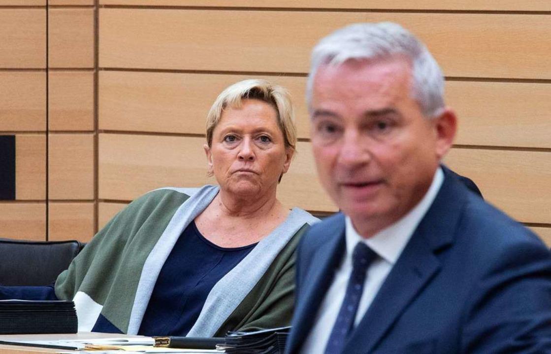 Kultusministerin Susanne Eisenmann und CDU-Landeschef Thomas Strobl  | Foto: Marijan Murat (dpa)