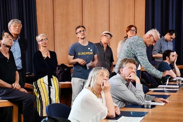 Die Kreistagswahl in Lörrach entwickelt sich zum Kopf-an-Kopf-Rennen