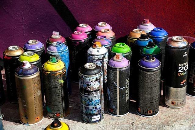 Firma in Schopfheim erneut mit Graffiti besprüht