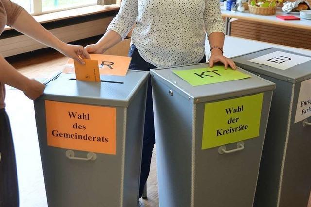 So haben die Gemeinden im Hexental und am Batzenberg gewählt