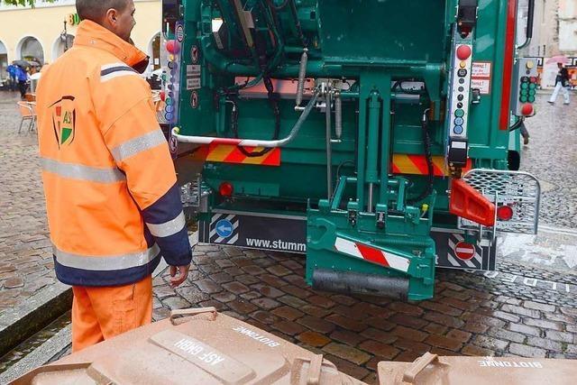 Müllabfuhr in Freiburg verschiebt sich wegen Christi Himmelfahrt