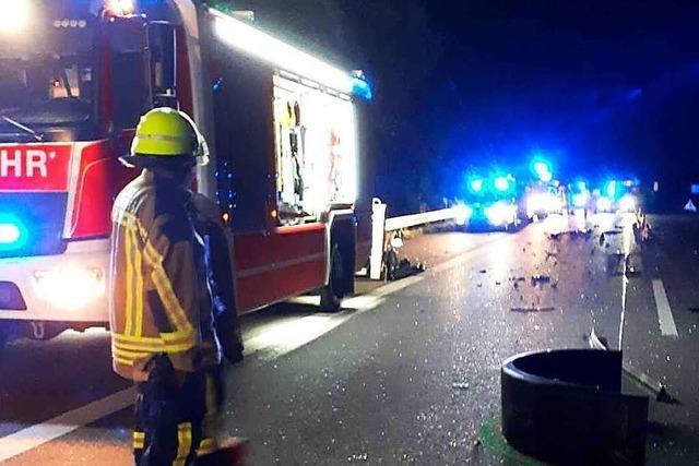Geisterfahrer-Unfall auf der A5 bei Riegel: Polizei sucht Zeugen