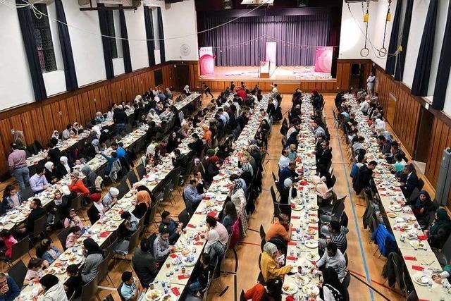 Rund 400 Menschen feierten Fastenbrechen in St. Georgen