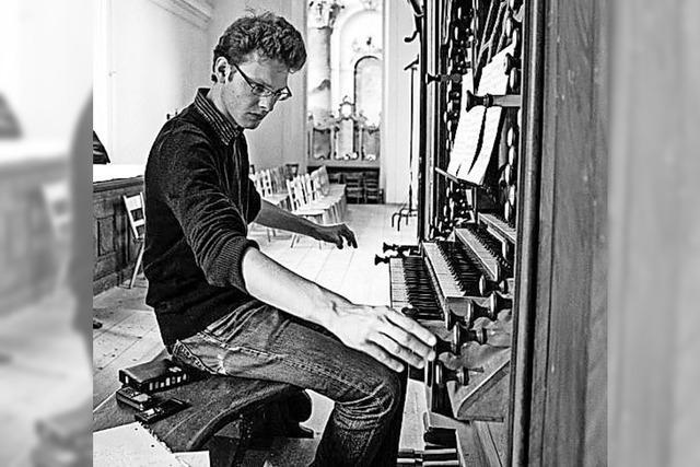 Organist Michael Schöch mit Werken von Werke von Bach und Dupré in St. Peter