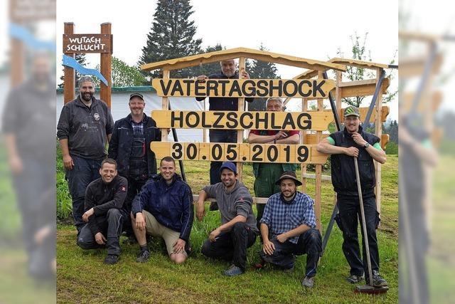 Vatertagshock in Holzschlag